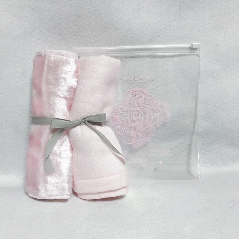KOBAKOの限定品スチームタオルセット ピンク