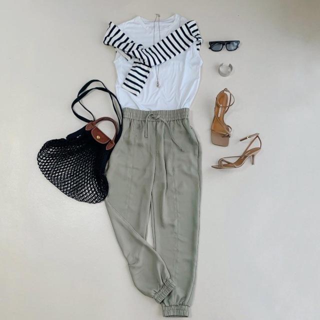 おしゃれ度を上げる最旬パンツはこれ! 2021春夏のパンツコーデまとめ 40代ファッション_1_40