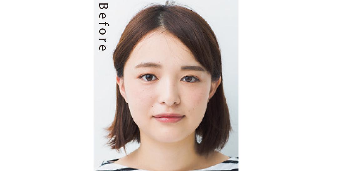丸顔さんの小顔化悩みには、トレンド前髪「透けバング」!_1_1