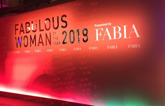 FABULOUS WOMAN OF THE YEAR 2018 by FABIAレポ_1_1