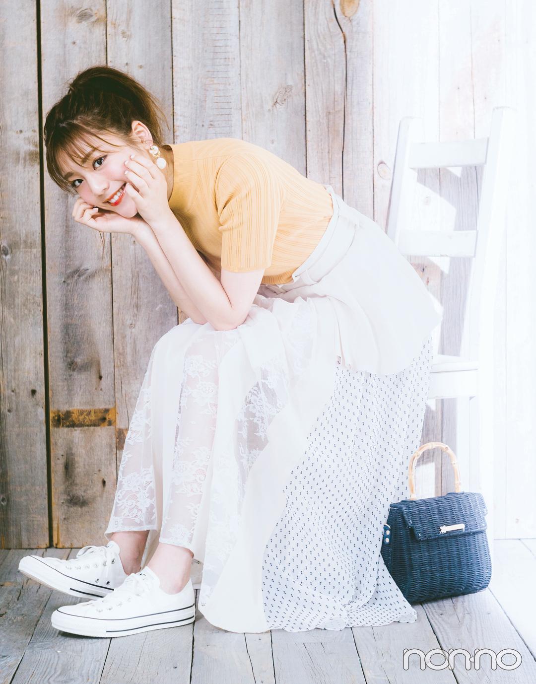 貴島明日香の好感度が高いワケ★ スニーカーコーデのルールを教えて!_1_3