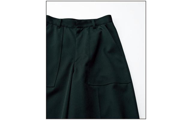 YLÈVE《イレーヴ》黒パンツ