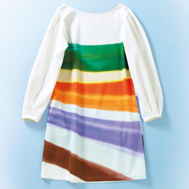 ドリス ヴァン ノッテンのプリントドレス