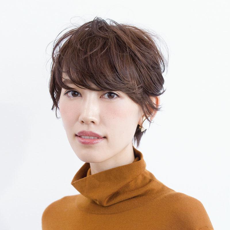 40代に似合う髪型 ショートヘアスタイル人気ランキング2位の髪型