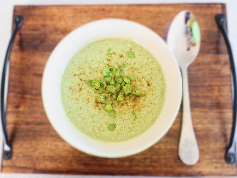 スーパー野菜、いんげんの豆乳ポタージュスープレシピ_1_1