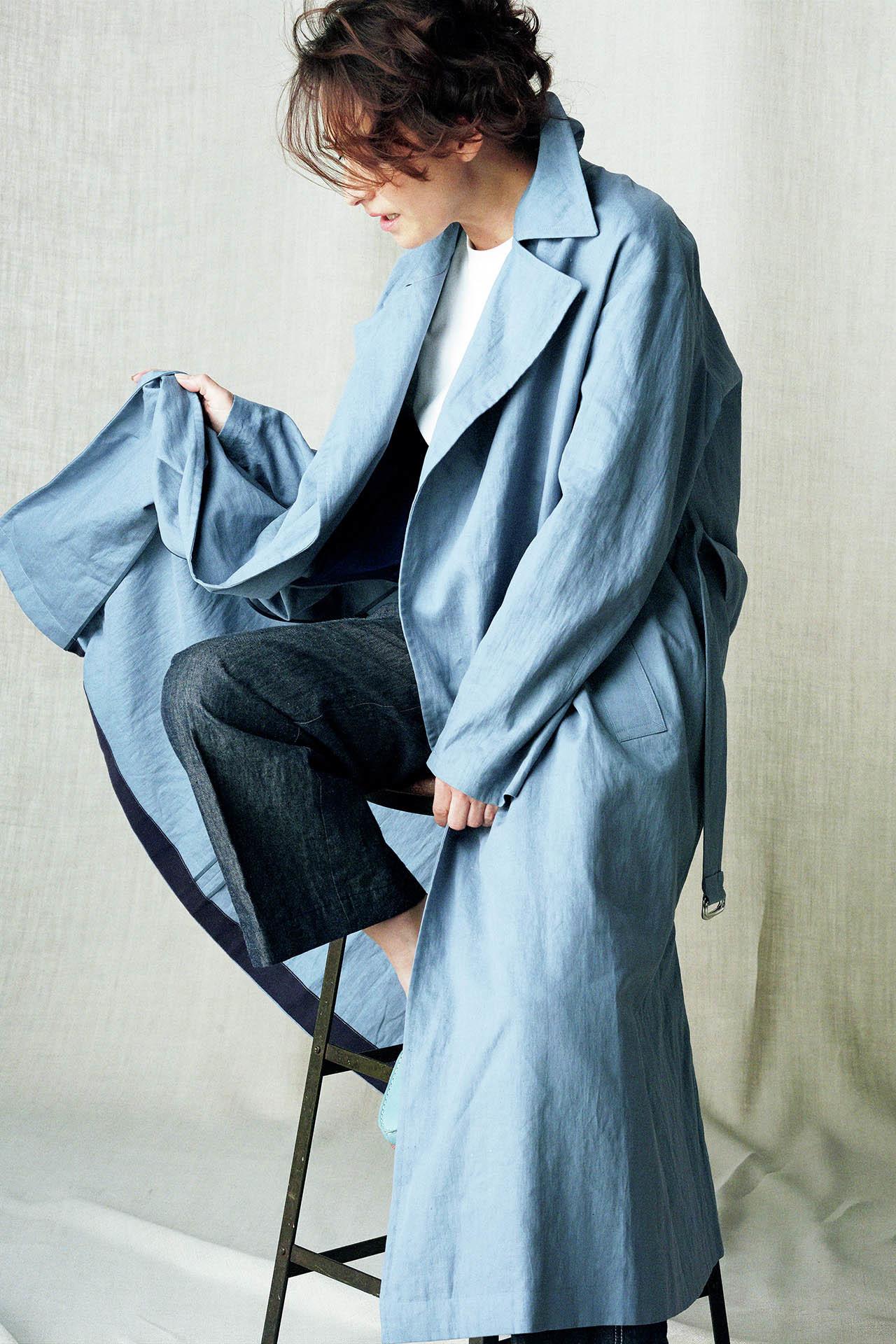 表情豊かな極上の素材。亜希、きれいに「麻」を着る 五選_1_1-1