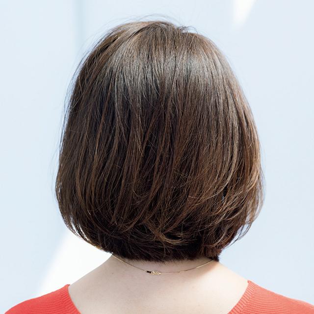 パサつき、うねりなどアラフィーの髪質悩みを解決する「雰囲気出しボブ」 五選_1_1-3