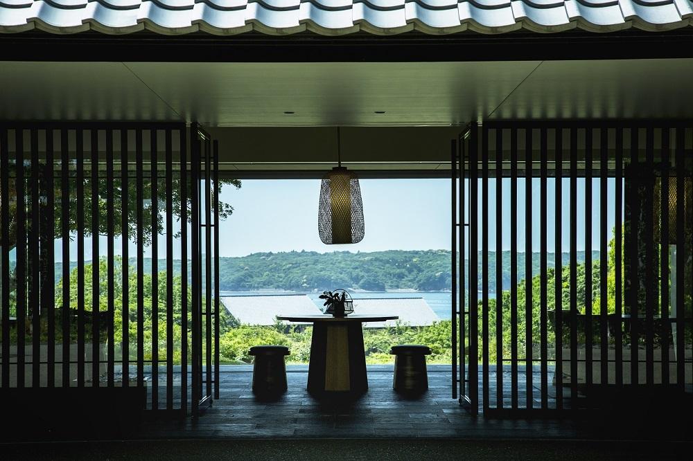 伊勢志摩国立公園の中という森と海に囲まれた「アマネム」