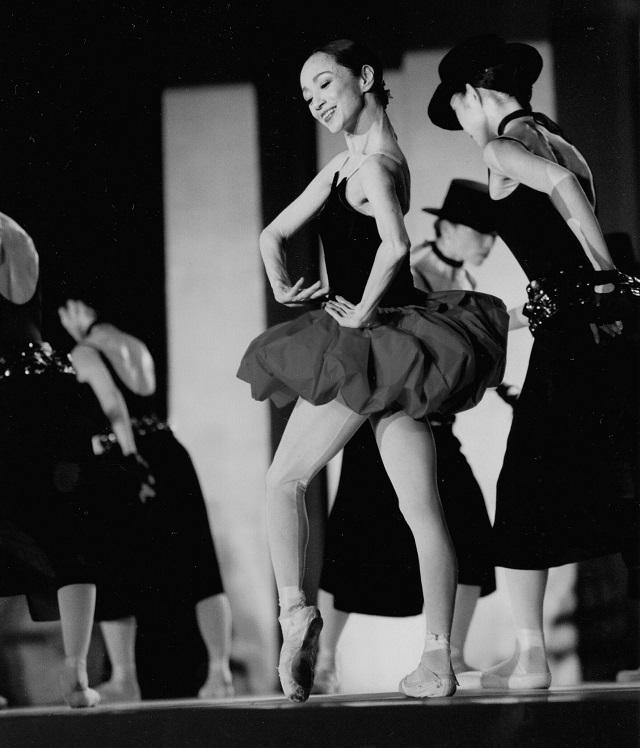 '01年、ホテルオークラで開かれた、森下さんの舞踊歴50周年記念公演『On the Dancing Planet』にて