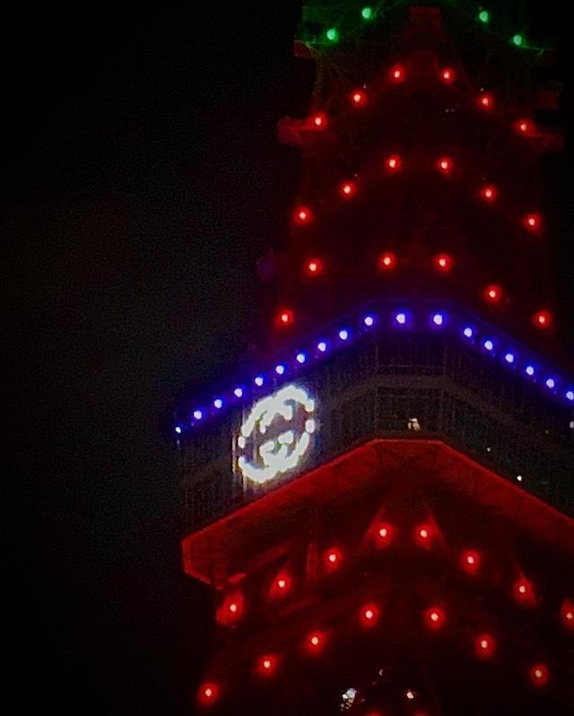 東京タワー イルミ イルミネーション グッチ GUCCI
