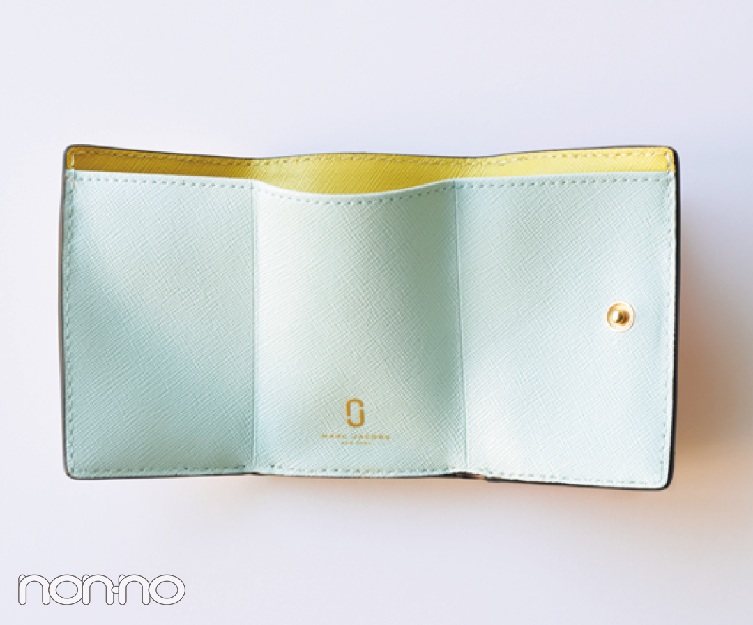 大本命★マークジェイコブスの「ダブルJ」つきミニ財布【20歳からの名品】_1_3-2