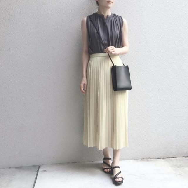 【ユニクロ】定価でも迷わず買った新色のプリーツスカート_1_8