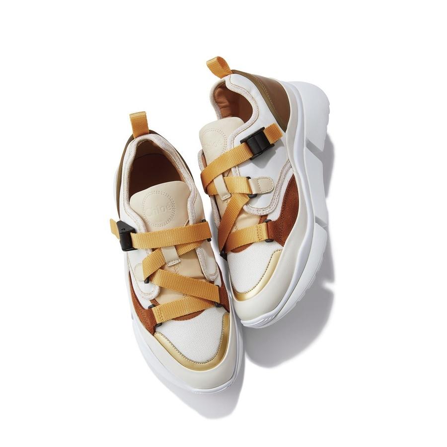 ファッション クロエのスニーカー