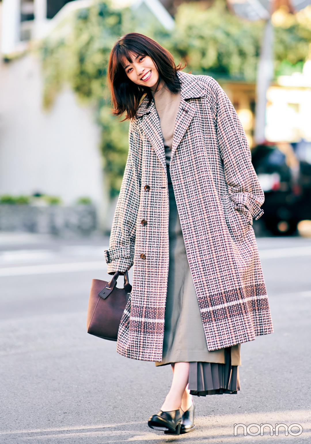 西野七瀬の冬私服♡ シックな冬配色でおしゃれのお手本!_1_3