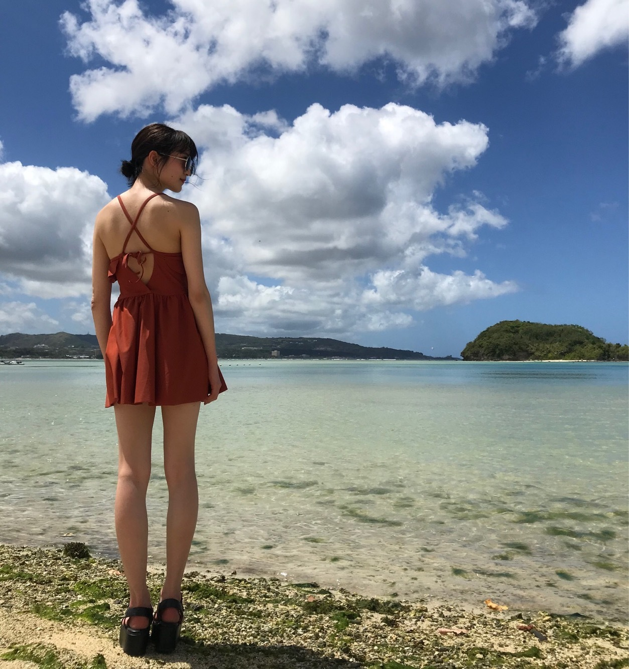 【プチプラ】水着&リゾートワンピース&サングラス_1_3-1