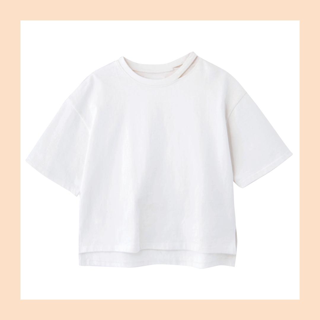 新木優子のシンプル白Tシャツ着回しコーデ、7通り! _1_2
