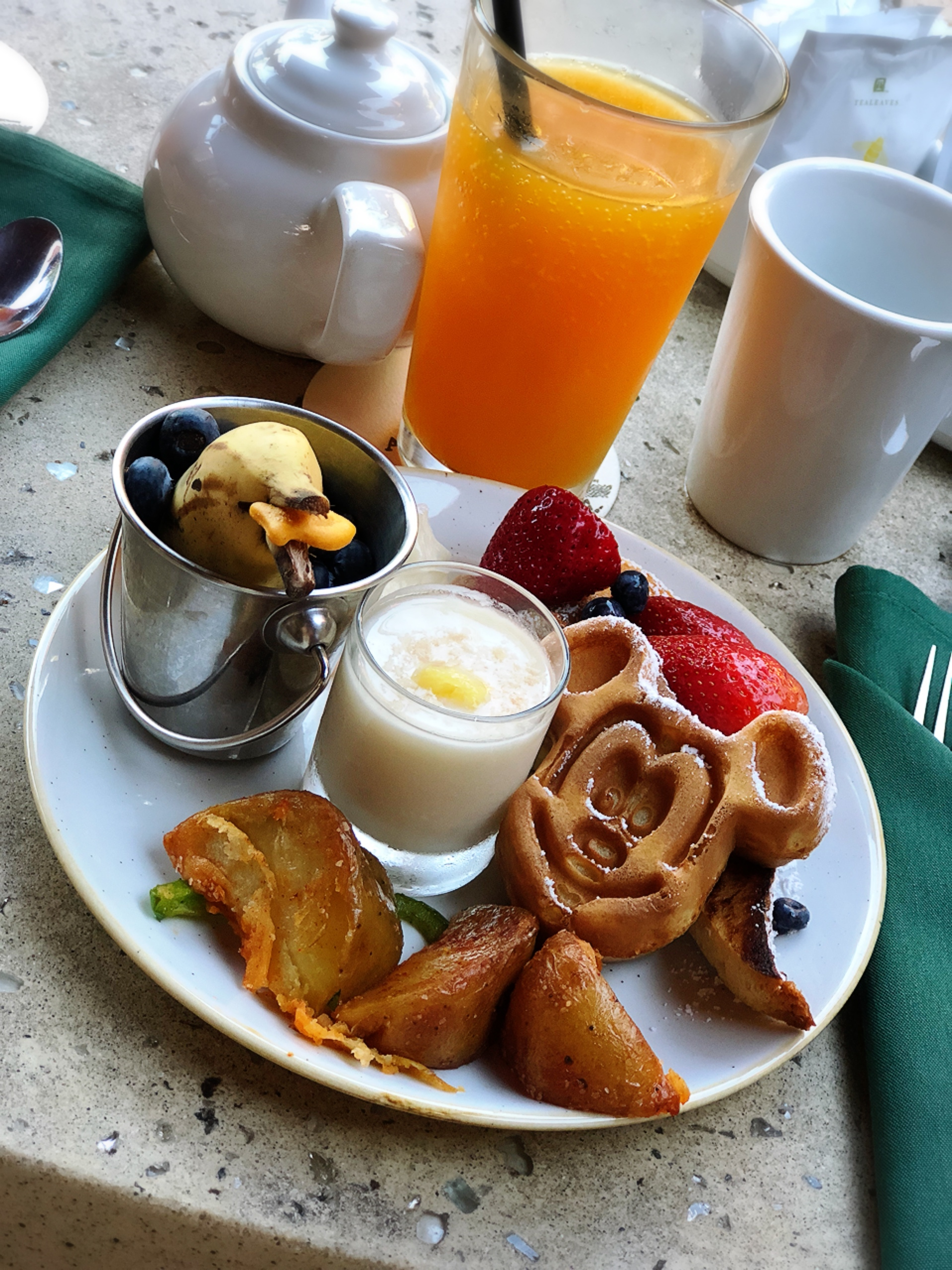 ミッキー達とご飯❥パンケーキを始め限定メニューの朝ビュッフェʚ◡̈⃝ɞ_1_4