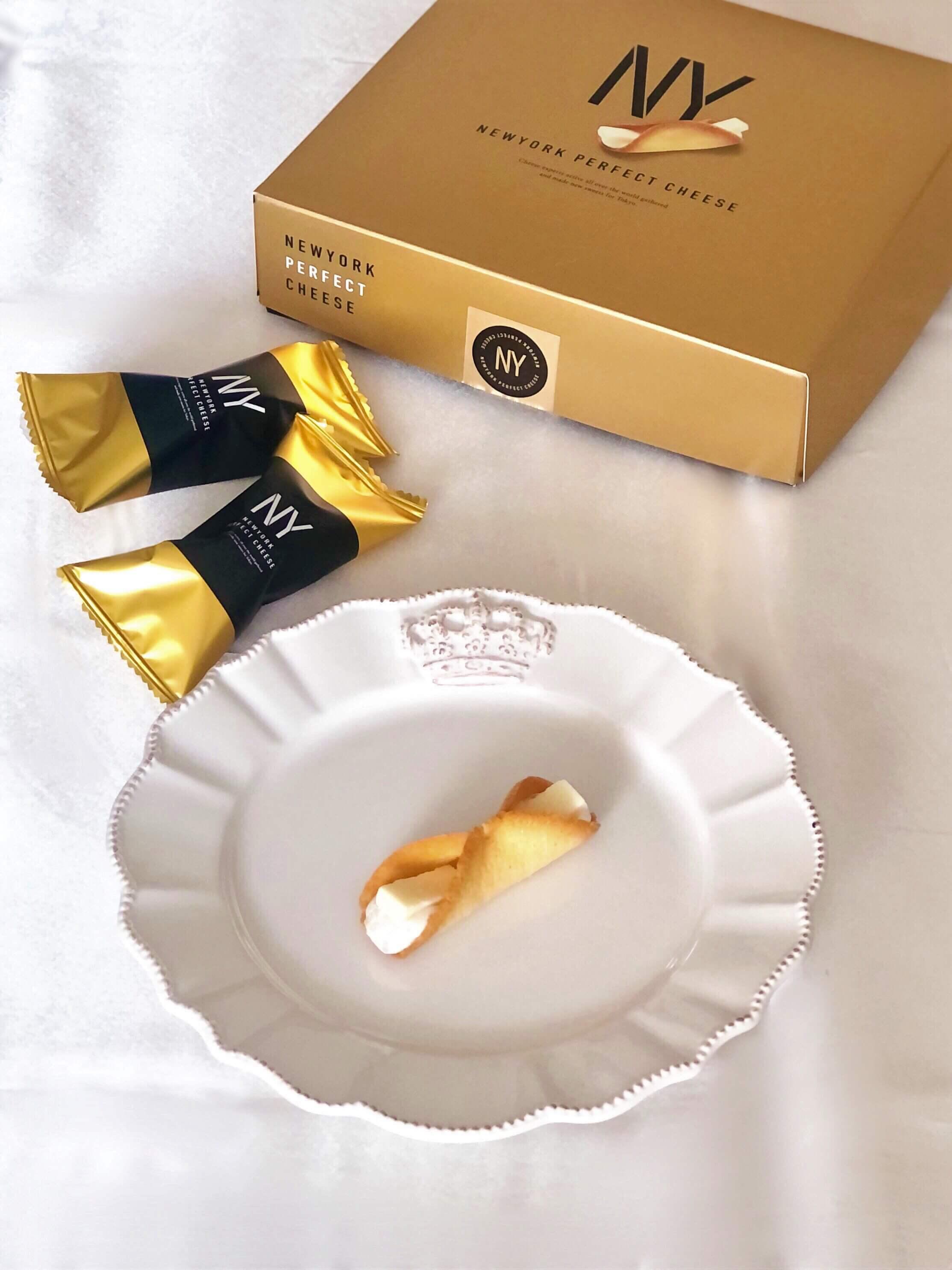 「ニューヨークパーフェクトチーズ」の一番人気のラングドシャスイーツ。