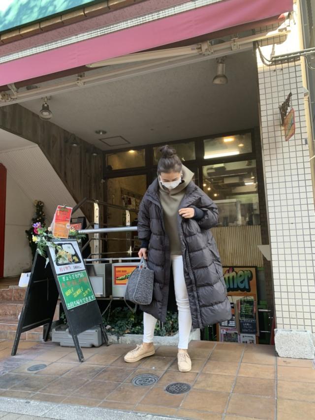 Newダウンコートで三茶さんぽ_1_2-1