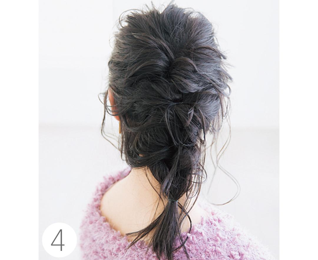 山田愛奈がお手本! 透明感カラーの黒髪でヘアアレンジ★_1_2-4