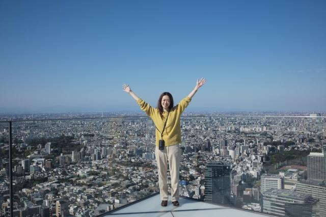 渋谷SKYでの私