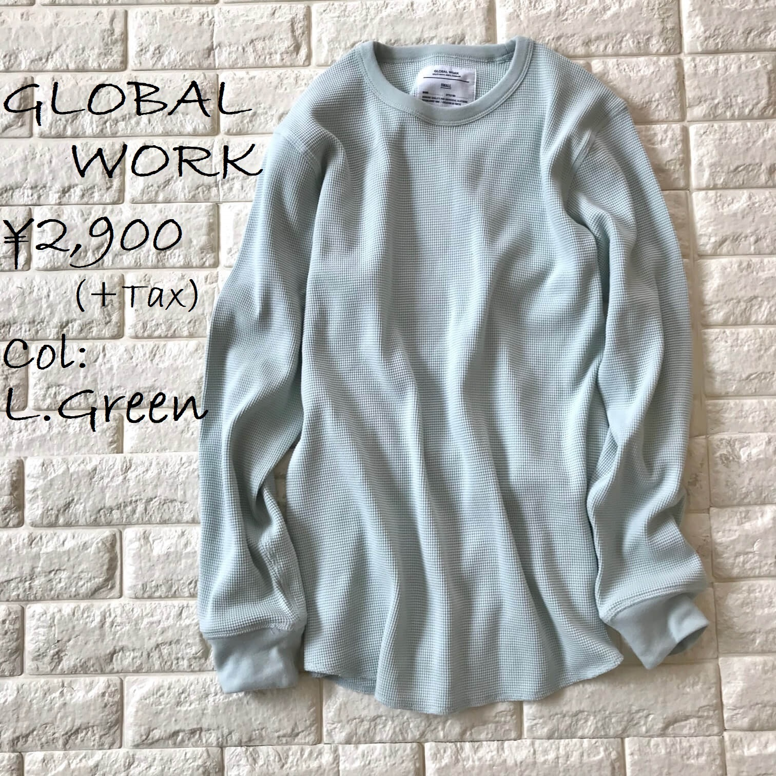 グローバルワークメンズのロングTシャツ画像