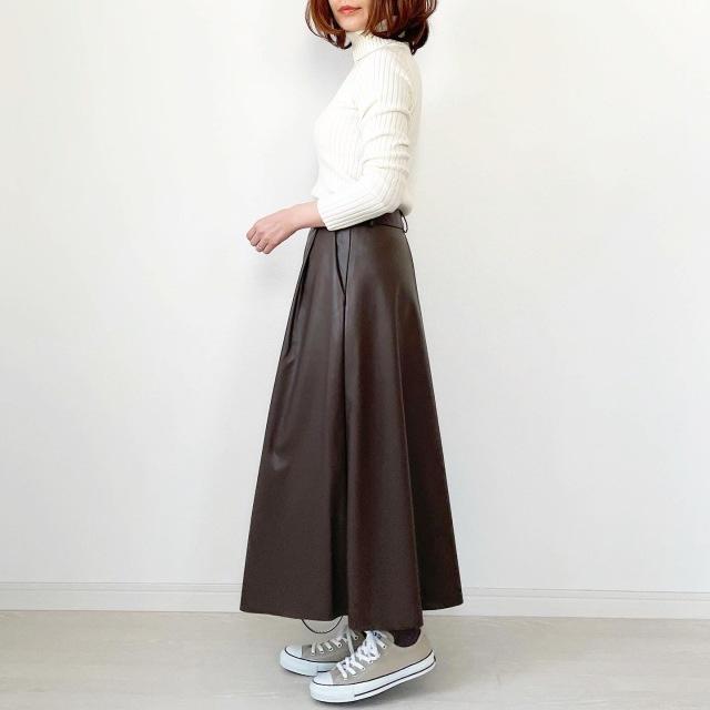 GU本当に買って良かったスカート!【tomomiyuコーデ】_1_4
