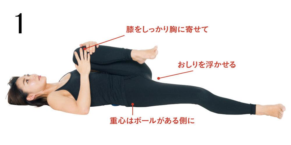<ひっこめ!腹肉・腰肉>Step1筋膜をほぐして、外側の筋肉を緩める・上半身編_1_5