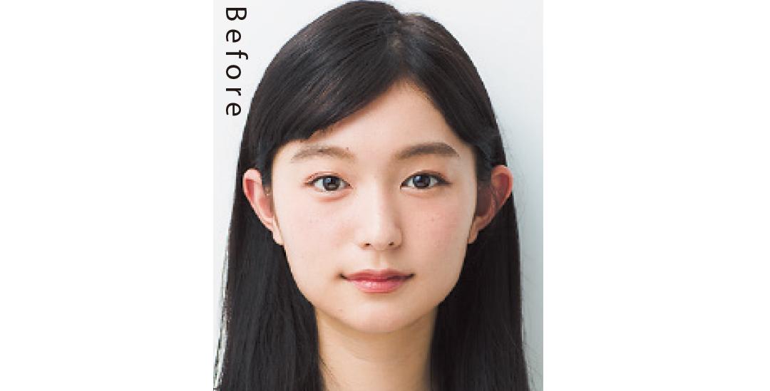 ベース型さんに似合う小顔見え髪型、ロングはこれがポイント!_1_1