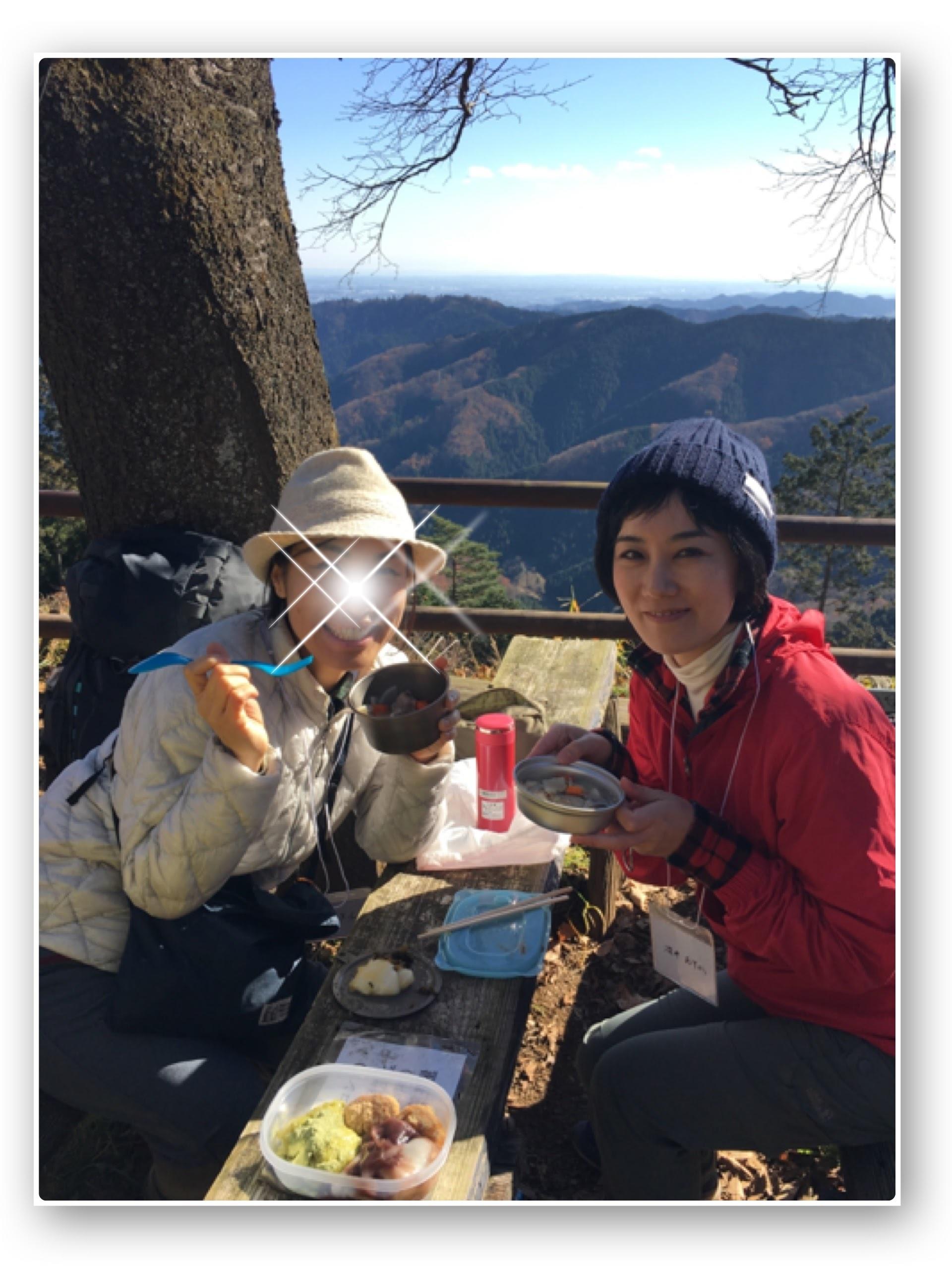 初冬のプチ登山を満喫♪お餅つきイベント@景信山_1_3-3