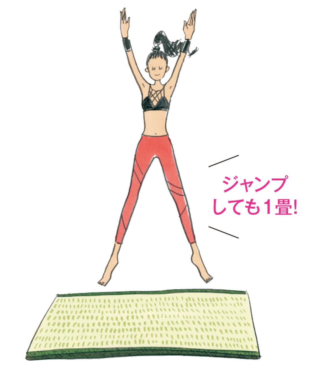 太もも痩せしたい! 1畳スペースでできる簡単筋トレをAYAさんが伝授♡ _1_2-6