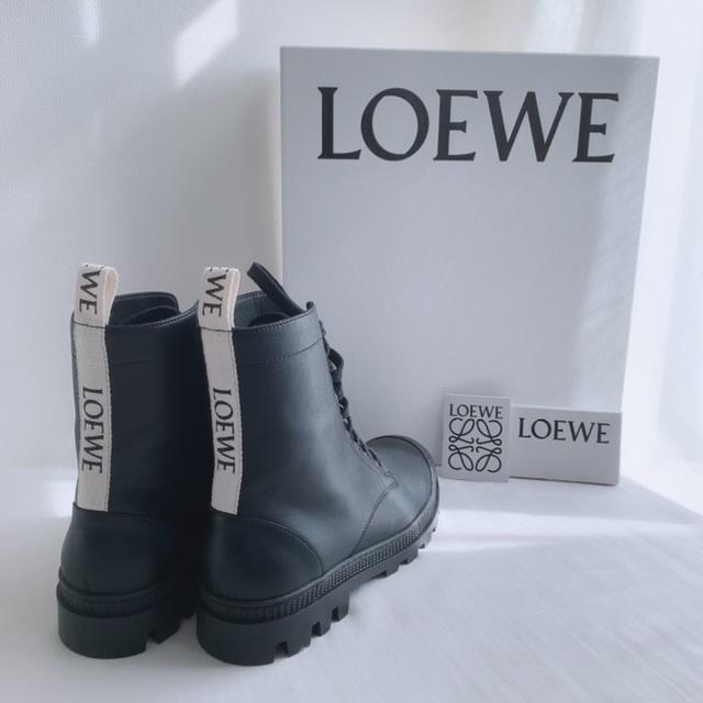 【LOEWEのコンバットブーツ】_1_1