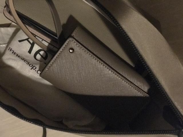 バッグの中身もだいぶコンパクトになりました。
