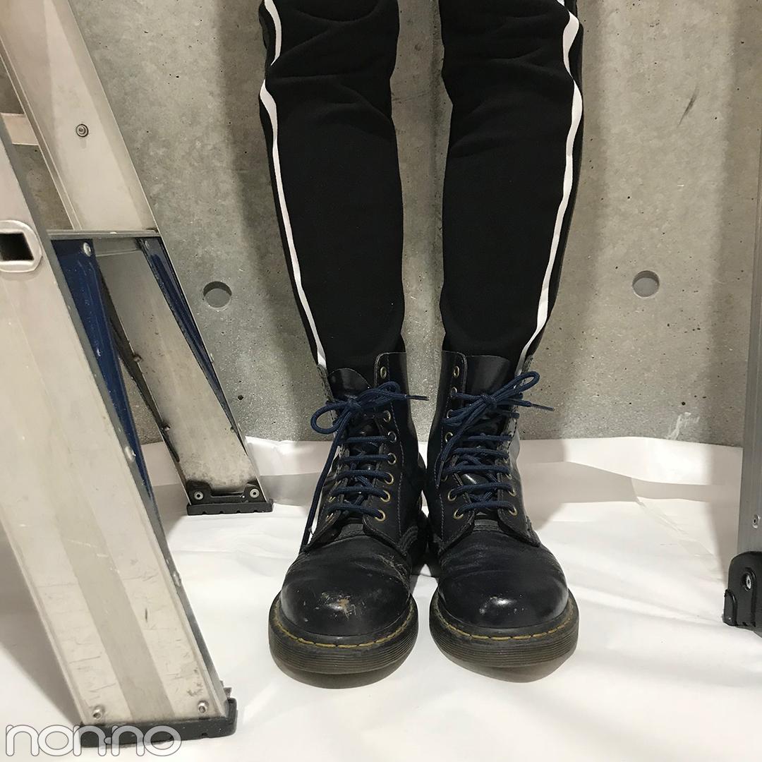 泉はるの今っぽカジュアルコーデ♡ ZARAのパンツ&ドクターマーチンのネイビー【モデルの私服スナップ】_1_2-3