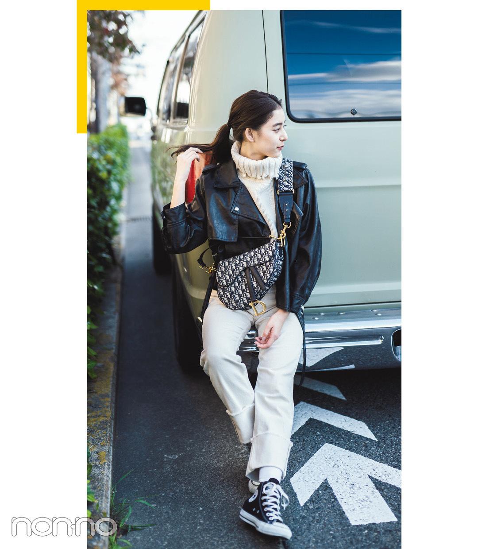 新木優子は黒の天才★真冬の私服コーデをチェック!【モデルの私服】_1_4