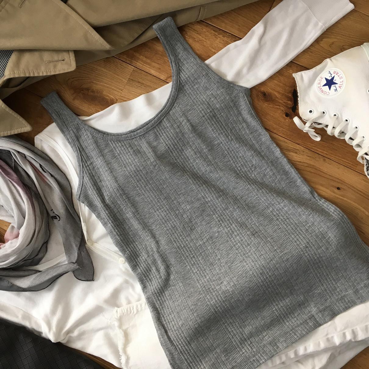 リアルレポート!Marisol4月号付録「セオリー リュクス リブタンクトップ」を美女組さんはこう着る!【マリソル美女組ブログPICK UP】_1_1-2