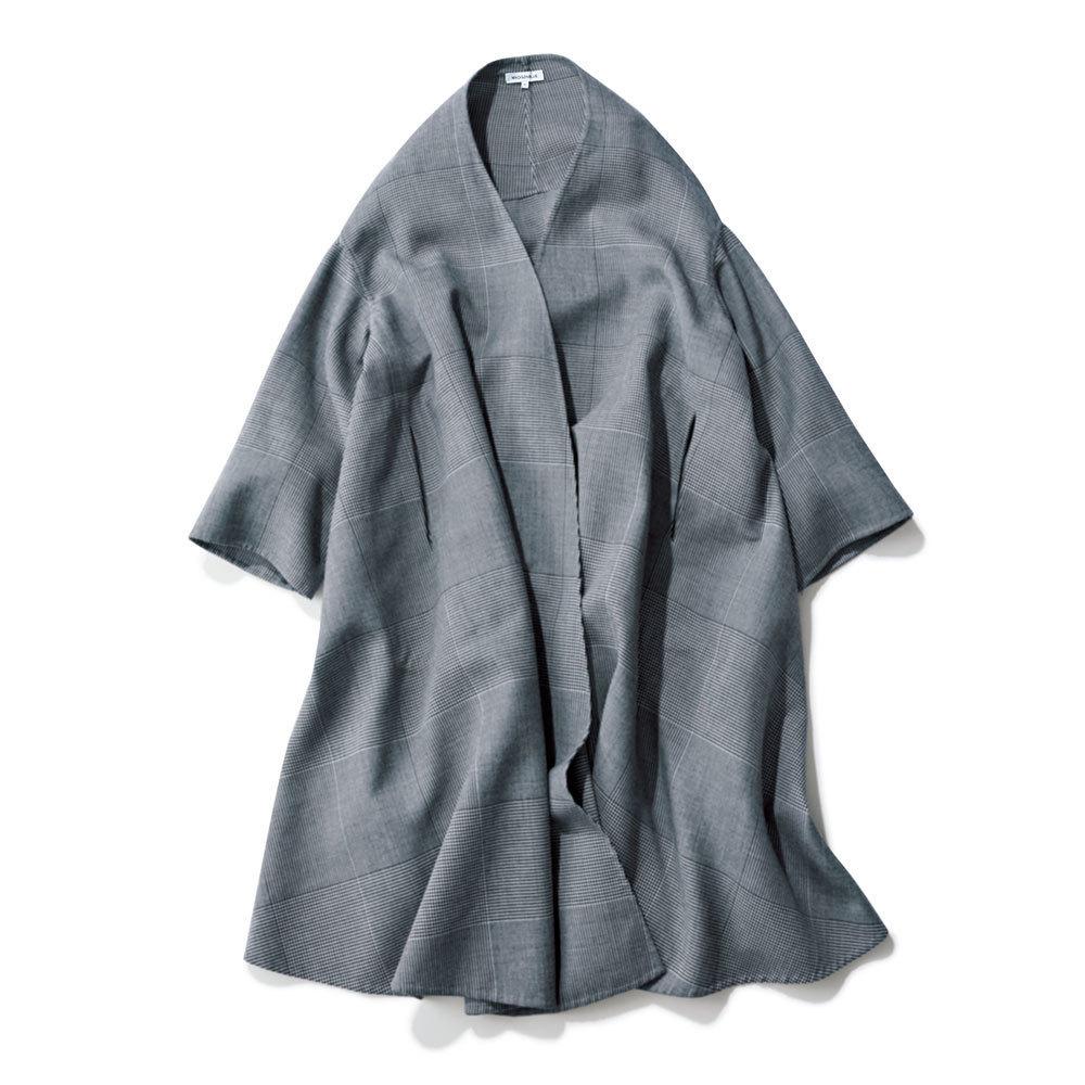 2018年冬の本命コートはマディソンブルーのチェック柄コート