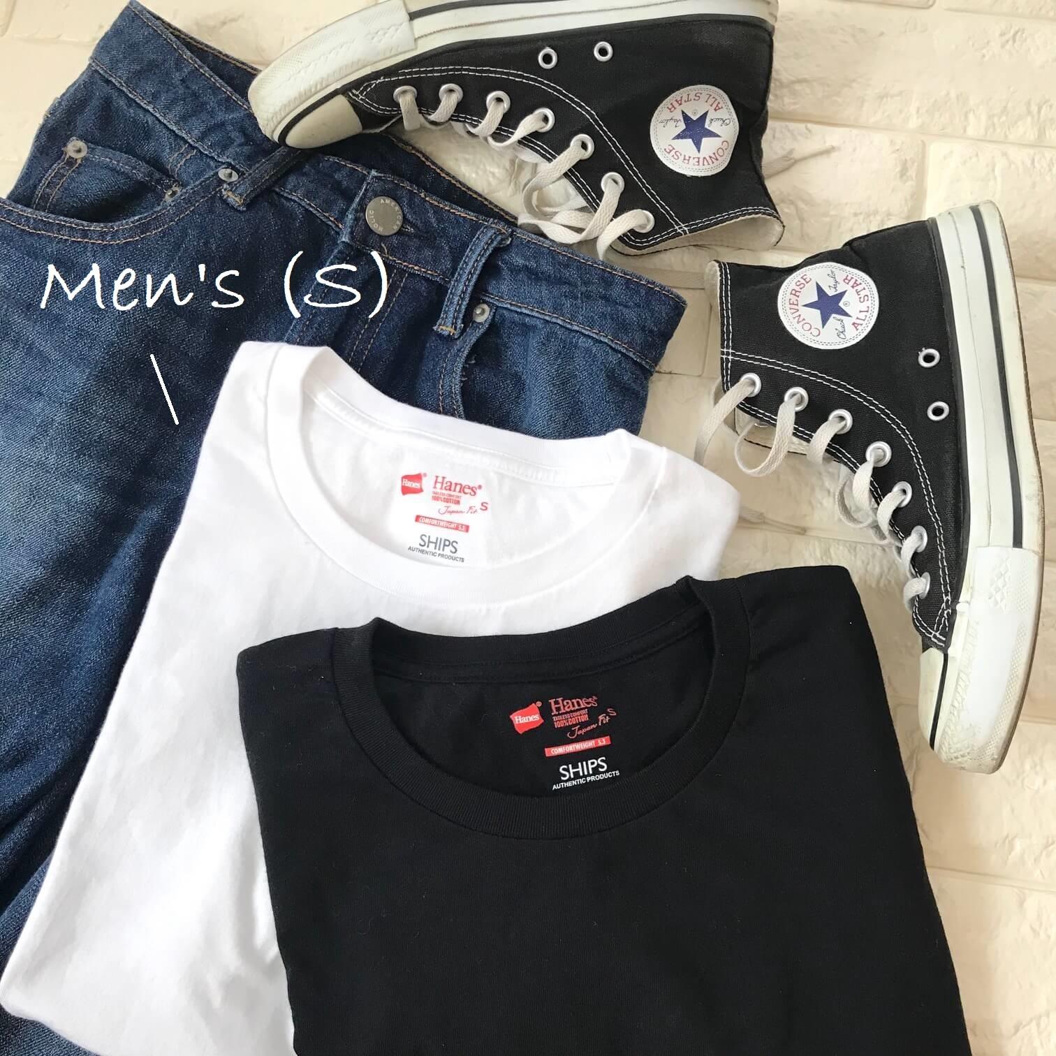ヘインズのTシャツロゴ部分画像