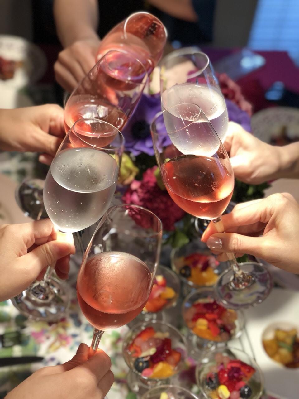 春はピンクのテーブルコーディネートでお料理を楽しく_1_3