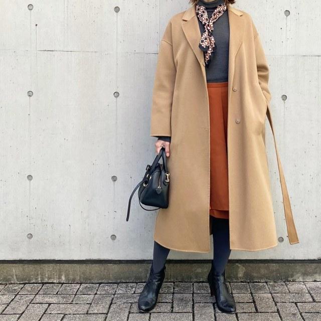 【スカーフアレンジ】プチプラコーデで、美女組同期ランチ会@銀座♪_1_1