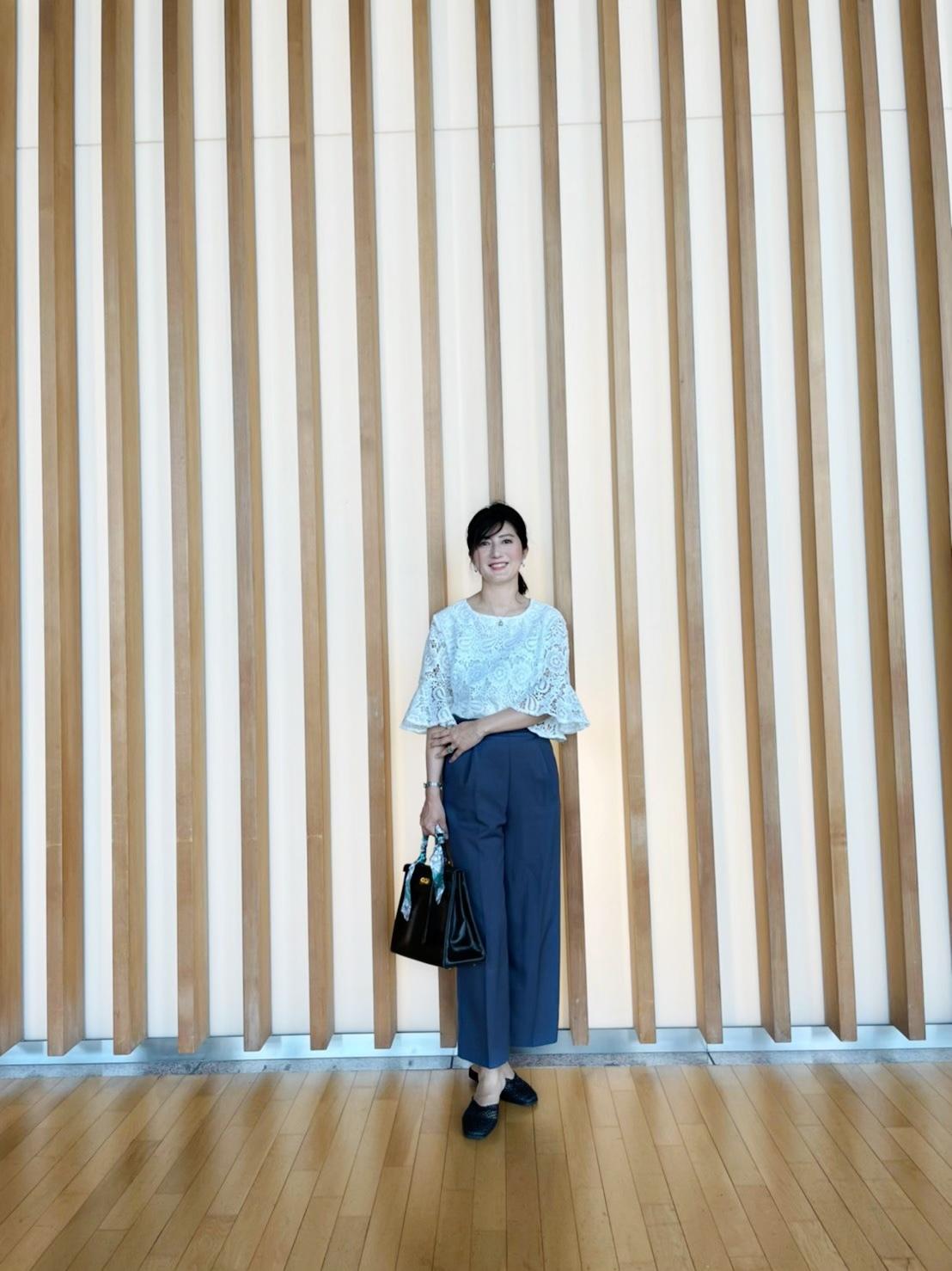 GUパンツで国立新美術館へ_1_5
