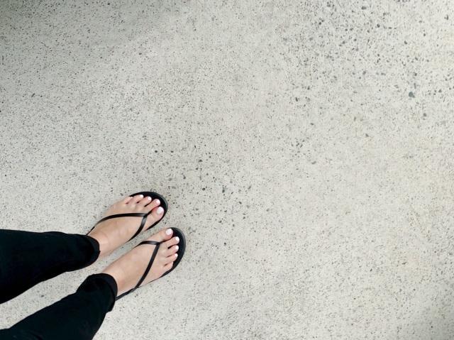 夏サンダルと夏ネイル_1_6