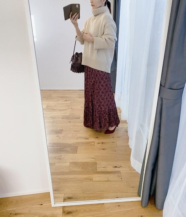 【セール戦利品①】ZARAのプリントスカート_1_3