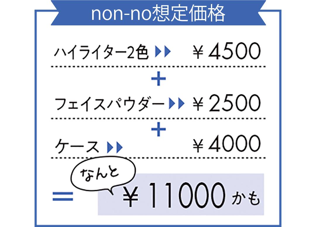 コフレ想定価格
