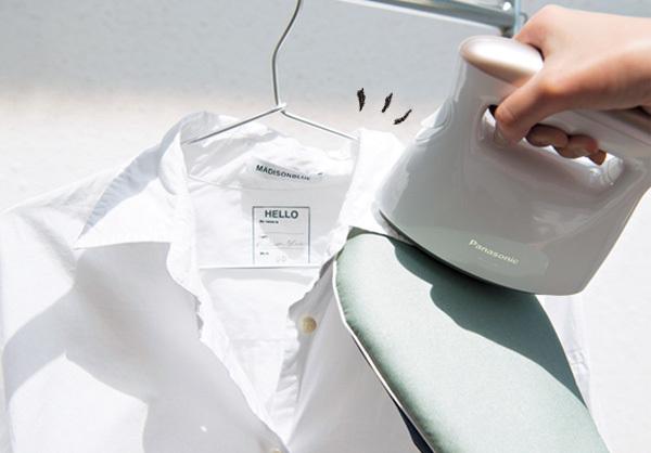 忙しくてもできる!コットンシャツを今どきスチーマーでお手入れ_1_2-2