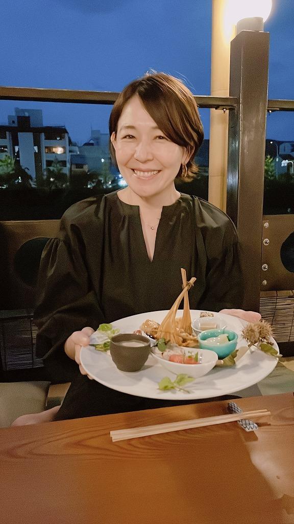 涼しくなってきた川床で京料理を楽しむ_1_3-2