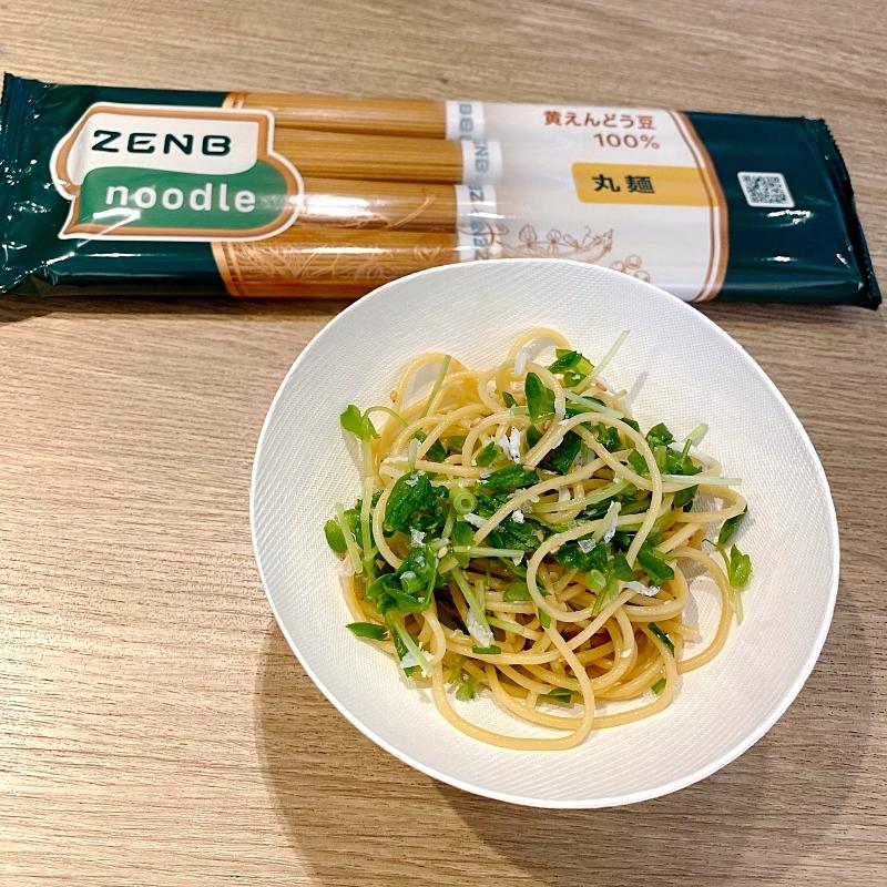 ZENBNOODLEのまぜ麺