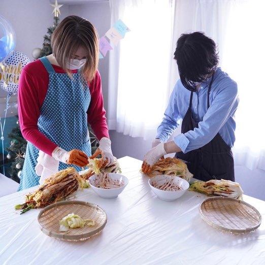 食べる美活。今年もキムチ作り教室へ。_1_2