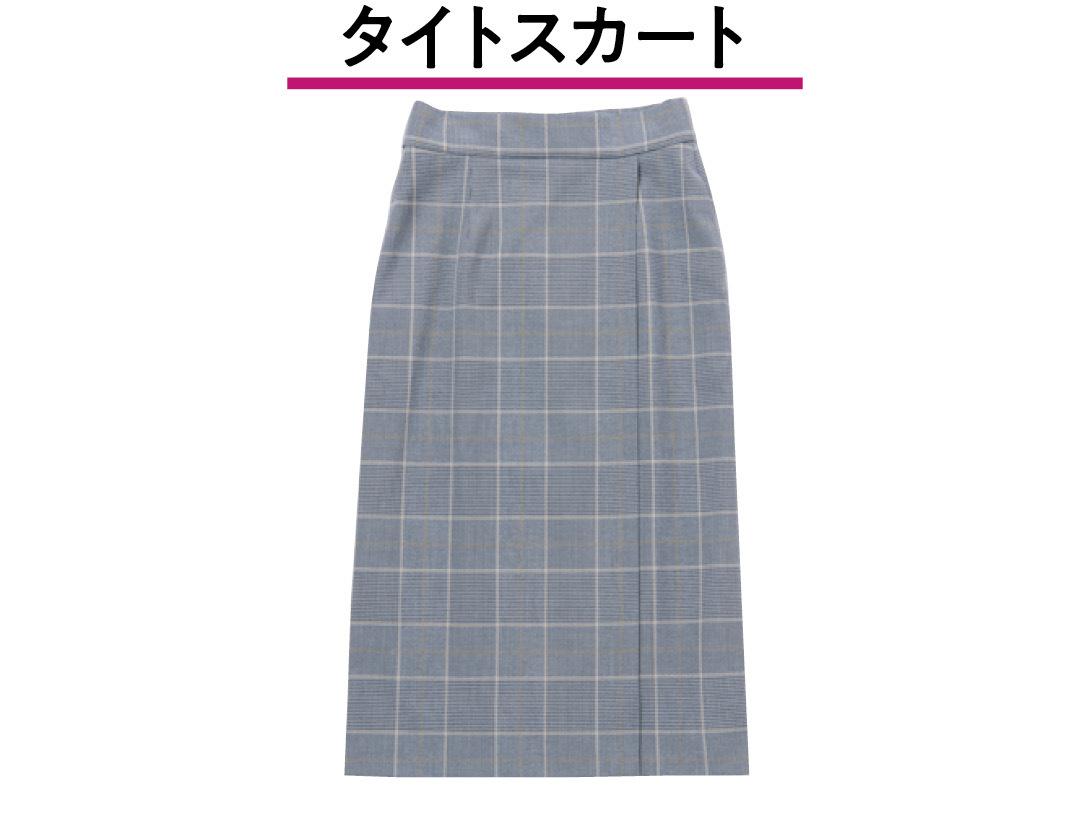 UNIQLO チェックナロースカート