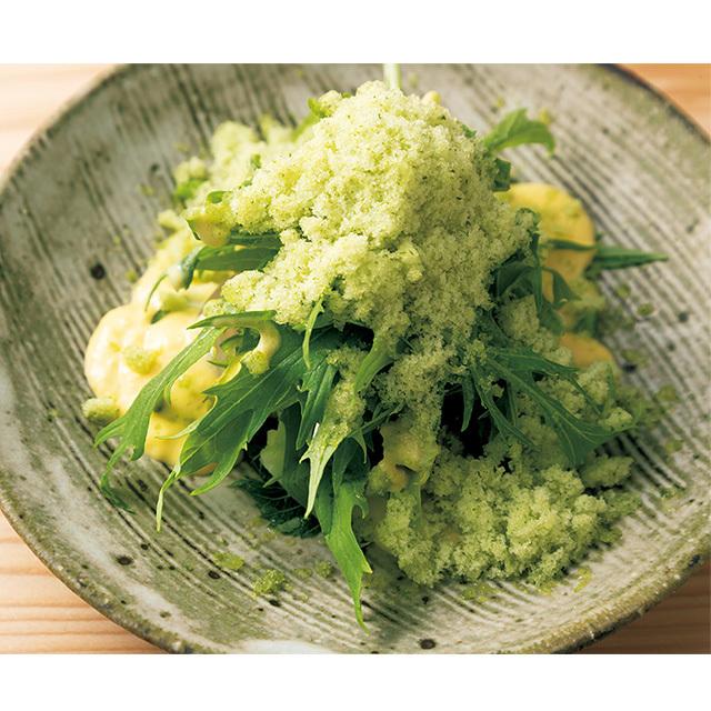 京都の四条にあるフュージョンレストラン「熙怡 kii」の水菜のサラダ